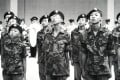 A passing out ceremony of the Royal Hong Kong Regiment (the Volunteers) in Happy Valley, in 1986. Photo: SCMP