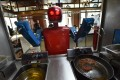 First we had robot cooks...