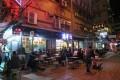 Al fresco dining in Mong Kok. Photo: May Tse