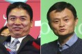 Clash of the titans? Chinese e-commerce rivals Richard Liu Qiangdong (left), founder of JD.com, and Alibaba founder Jack Ma (right) have often had spats on social media over their businesses. Photos: Reuters, Sam Tsang