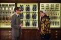 Actors Colin Firth and Taaron Egerton in the movie Kingsman: The Secret Service . Photo: Twentieth Century Fox Film Corporation