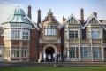 The mansion's façade. Photos: GCHQ; Gary Jones; AP
