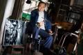 Yeung Kuen, 81, fixes shoes in Sham Shui Po. Photo: K.Y.Cheng
