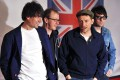Graham Coxon, right, pictured with band mates bassist Alex James, left, drummer Dave Rowntree and singer Damon Albarn, said Hong Kong has made its way into Blur's music. Photo: AFP