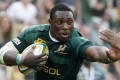 Zimbabwe-born prop Tendai 'The Beast' Mtawarira has been a long-serving first choice for South Africa but is prone to injury. Photo: Reuters