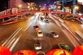 Motorists in Xian claim they have confused the Lunar New Year red lantern decorations at road junctions for traffic lights. Photo: sxdaily.com.cn