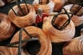 The price of copper has rebounded to a seven-week high of  US$5,960 a tonne. Photo: Bloomberg