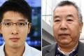 So Si-kit (right) who punched journalist Mak Ka-wai. Photos: Dickson Lee, Nora Tam