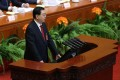 China's national legislature head Zhang Dejiang. Photo: EPA
