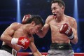Rex Tso beat Filipino Michael Enriquez by a unanimous decision last weekend to maintain his unbeaten streak after being forced to fight close in by the tough Filipino. Photo: Reuters