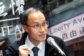 Pollster Robert Chung's proposal to hold a referendum on the government's political reform package fails to win support. Photo: Dickson Lee