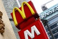 """McDonald's is cutting the price of apple pies in a """"3.14"""" event. Photo: AFP"""