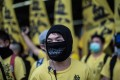 Protests against parallel traders organised by groups such as Civic Passion have become more and more ugly. Photo: AFP