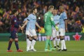 Manchester City were knocked out of the Champions League midweek but need to recover from the disappointment quickly. Photo: AP