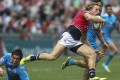 Tom McQueen and his Hong Kong team-mates are pushing for promotion to the Sevens World Series at their fourth attempt this weekend. Photo: Dickson Lee/SCMP