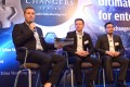 Simon Squibb (left), CEO of Nest Investments, speaks at the SCMP Game Changers forum. Photo: SCMP Pictures