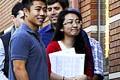 Asian-Americans line up in Kansas City, Missouri.Photo: AP