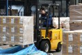 Packages arrive from China at Incheon International Airport. Trade and investment between the two nations have grown. Photo: Bloomberg