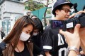 Beautician Cheng Wai-yung outside court. Photo: SCMP Pictures