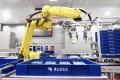 A robot works for Foshan Electric Power Supply Bureau.