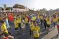 Runners tackle the Beijing marathon. Photo: SCMP Pictures
