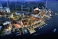 An artist's depiction of the Shanghai DreamCenter site. Photo: SCMP Pictures