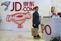 JD.com moves into China's online fresh food retail market. Photo: AP
