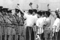 Demonstrators and police in May 1967. Photo: SCMP Pictures