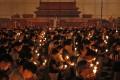Annual candelight vigil in Victoria Park. Photo: AP