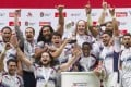 With the London Sevens triumph still fresh in the memory, the USA will be full of confidence for this weekend's North America Caribbean Rugby Association Olympic qualifiers in North Carolina. Photos: AFP