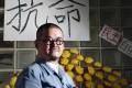 Shiu Ka-chun lectures on social work. Photo: K.Y. Cheng