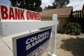 Banks reclaimed 44,892 homes in the United States last month. Photo: Reuters
