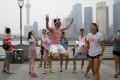 The Pride Run. Photo: Reuters