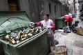 Citywide glass recycling needed.Photo: Jonathan Wong
