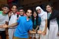 Vivek Mahbubani with students from Mrs Aw Boon Haw Secondary School. Photos: Janice Leung, Edmond So