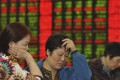 More than 20 trillion yuan has been wiped off China's stock markets in just three weeks. Photo: AP