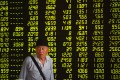 A trading hall in a securities firm in Shenyang. Chinese stocks continued to plunge on Thursday. Photo: Xinhua