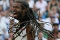 Dustin Brown, a 30-year-old German journeyman, sends Rafael Nadal packing in the second round at Wimbledon. Photo: Reuters