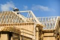 The seasonally adjusted annualised rate of housing starts in Canada rose to 202,818 in June from a revised 196,981 in May. Photo: Reuters