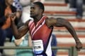 Justin Gatlin is tipped for a double in Beijing. Photo: AFP
