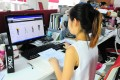 A Bonas staff member at work on Amazon. Photo: SCMP Pictures