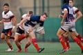 Club captain Craig Wilson (centre) leaves Hong Kong Scottish after seven years to become women's rugby coach at Yale University. Photos: HKRFU