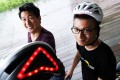 Ding Eu-wen (left) and Jeff Chen came up with their idea over their safety concerns. Photo: Dickson Lee