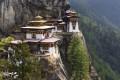 The Tiger's Nest Temple, at Paro, in Bhutan. Photos: Corbis; Dinah Gardner; AFP