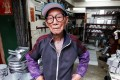 Mak Sing-yin shaped tin for 81 years, but refused to teach his trade to his descendants, saying they could make little money at it. Photo: Edward Wong