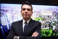 Damac Properties head Ziad El Chaar was in Hong Kong to promote his luxury London development to Chinese buyers. Photo: Jonathan Wong