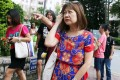 Julie Li was fined HK$2,500.Photo: Edward Wong