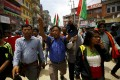The general strike was organised by a 30-party alliance led by a hardline faction of former Maoist rebels. Photo: Reuters