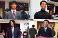 (Click to enlarge the picture) Clockwise from top left: The wax figures of Jay Chou, Jet Li, Steven Chow, Andy Lau. Photo: SCMP Pictures