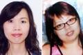 Missing women Lee Yuk-shan (left) and Cheng Tsz-mei
